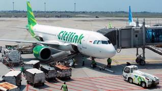 Citilink Isi Penuh Kursi Pesawat Selama PPKM