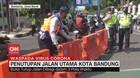 VIDEO: Penutupan Jalan Utama Kota Bandung
