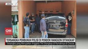 VIDEO: Tersangka Pembunuh Polisi di Pondok Ranggon Ditangkap