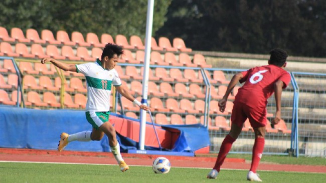 Timnas U-23 Kalahkan Nepal, Witan Cetak Gol