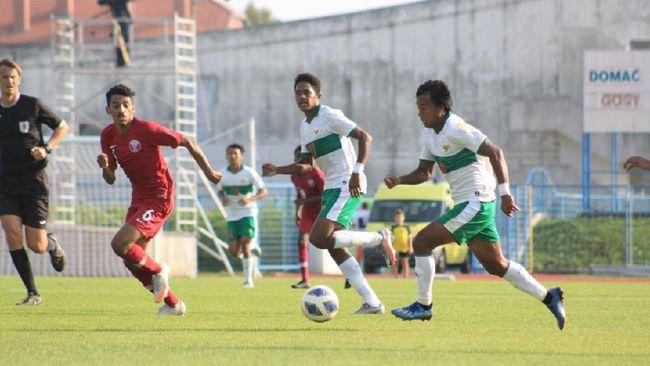Berikut jadwal Timnas Indonesia U-19 vs Qatar dalam laga persahabatan di Stadion SRC Mladost, Kroasia, Minggu (20/9) malam.