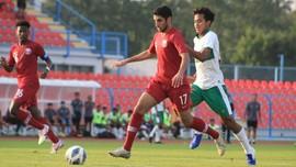 Babak I: Timnas Indonesia U-19 0-0 Qatar U-19