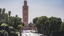 Alun-alun Marrakesh yang Sekarat Disandera Corona