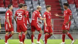 FOTO: Pesta Delapan Gol Bayern Munchen Atas Schalke
