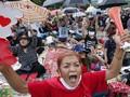FOTO : Gelombang Unjuk Rasa Pro-Demokrasi di Thailand