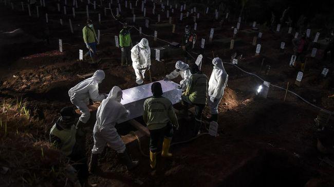 TPU Pondok Ranggon, Jakarta Timur, dinyatakan penuh bagi jenazah muslim. Kini TPU itu hanya melayani pemakaman tumpang jasad.