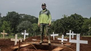 4 Wilayah DKI Catat Kematian di Atas 100 Orang, Jakpus 253