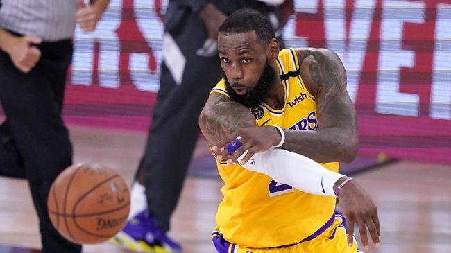 Bintang Los Angeles Lakers, LeBron James mengaku kecewa dengan voting pemilihan MVP NBA 2020.