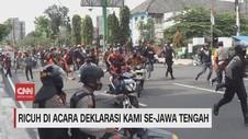 VIDEO: Ricuh di Acara KAMI Se-Jawa Tengah