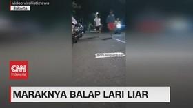 VIDEO: Maraknya Balap Lari Liar
