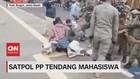 VIDEO: Satpol PP Tendang Mahasiswa