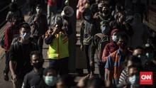 FOTO: Pembatasan Jam Operasional KRL Selama PSBB DKI
