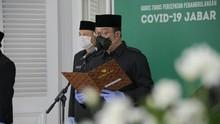 Ridwan Kamil Lantik 318 PNS Pemda Jabar