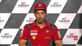 VIDEO: Puncaki Klasemen MotoGP, Dovizioso Tak Besar Kepala