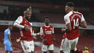 Hasil Liga Inggris: Arsenal Bekuk West Ham 2-1