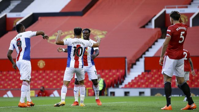 Dua dari tiga pertemuan terakhir antara Crystal Palace dan Manchester United dimenangkan skuad The Eagles.