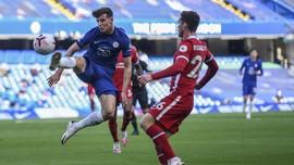 Chelsea dan Liverpool Imbang Tanpa Gol di Babak Pertama