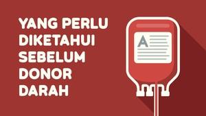 INFOGRAFIS: Yang Perlu Diketahui Sebelum Donor Darah