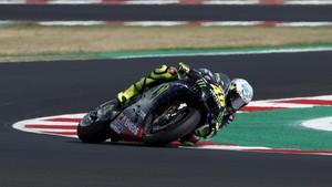 Kesalahan Aneh Buat Rossi Celaka di MotoGP Emilia Romagna