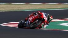 Cedera di MotoGP Portugal, Bagnaia Marah kepada Mir