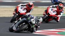 Hasil MotoGP Emilia Romagna: Vinales Kalahkan Mir