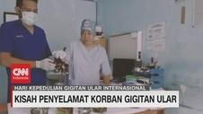 VIDEO: Kisah Penyelamat Korban Gigitan Ular
