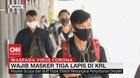 VIDEO: Wajib Masker 3 Lapis Atau Masker Kesehatan di KRL