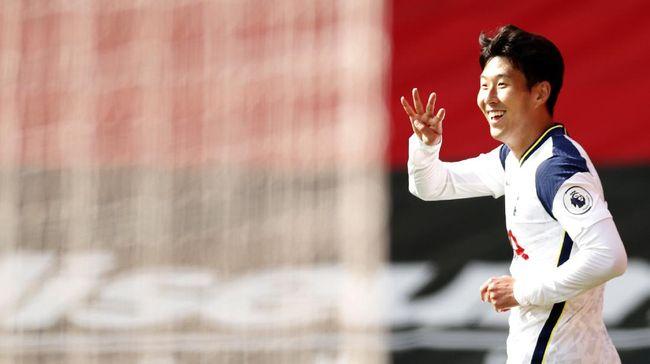 Son Heung Min dan Dominic Calvert-Lewin memimpin daftar top skor sementara Liga Inggris di pekan kedua.