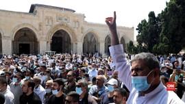 VIDEO: Warga Palestina Protes Normalisasi Israel-UEA-Bahrain