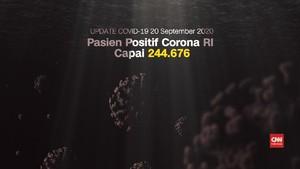 VIDEO: Kasus Baru 3.989, Positif Corona RI Tembus 244 Ribu