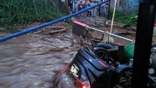 3 Kecamatan di Sukabumi Dilanda Banjir Bandang