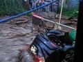 Banjir Bandang Hanyutkan Rumah Warga Cicurug Sukabumi