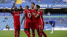Liverpool vs Arsenal: Pesta Firmino, Mane, dan Salah