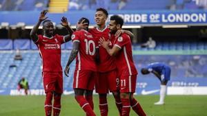 Liverpool vs Arsenal: Pesta Firmino, Mane, dan Salah