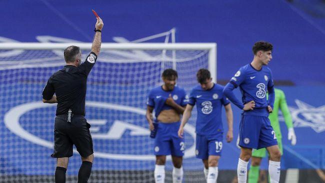 Chelsea belum cukup kuat menghadapi Liverpool. Hal itu diperparah kartu merah dan blunder yang dilakukan Kepa Arrizabalaga.