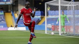 FOTO: Liverpool Bungkam Chelsea