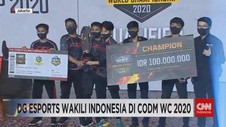 VIDEO: DG Esports Wakili Indonesia di CODM WC 2020