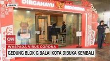VIDEO: Gedung Blok G Balai Kota Dibuka Kembali
