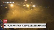 VIDEO: Katulampa Siaga 1, Waspada Banjir Kiriman