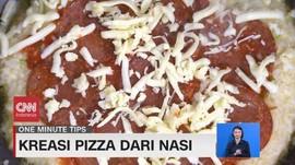 VIDEO: Kreasi Pizza dari Nasi