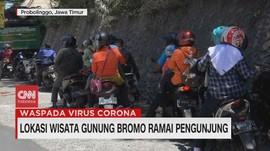 VIDEO: Lokasi Wisata Gunung Bromo Ramai Pengunjung