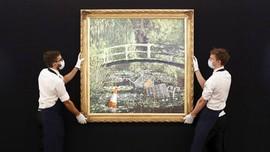 Lukisan Banksy Dilelang, Diprediksi Laku Rp95,2 Miliar