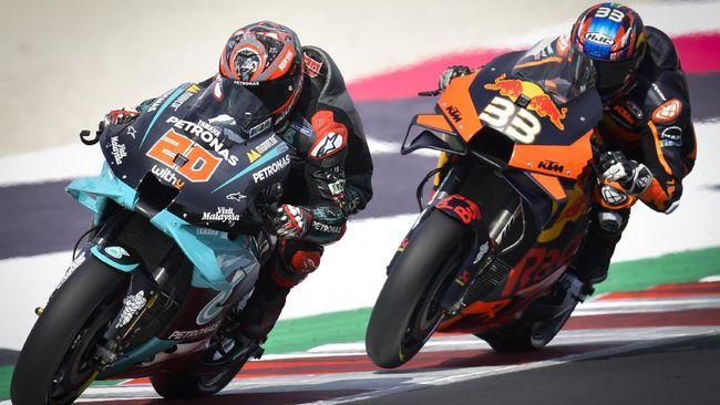 Fabio Quartararo marah terhadap race direction MotoGP setelah dihukum tiga detik dan gagal meraih podium di MotoGP Emilia Romagna 2020.