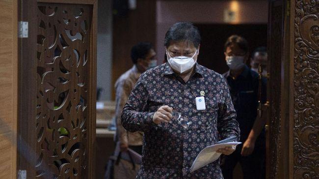 Menko Bidang Perekonomian Airlangga Hartarto memperkirakan dana penanganan pandemi virus corona akan terserap 100 persen pada tahun ini.