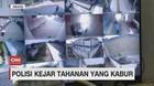 VIDEO: Polisi Buru Tahanan yang Kabur Lewat Galian Lubang