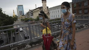 Kasus Corona Melonjak, Myanmar Perpanjang Lockdown Yangon