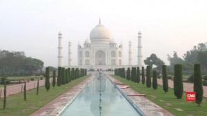 VIDEO: Antrean Taj Mahal Dikhawatirkan Jadi Klaster Corona
