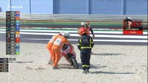 VIDEO: Bagnaia Jatuh dan Gagal Menang MotoGP Emilia Romagna