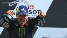 VIDEO: Momen Vinales Akhiri Kutukan di MotoGP Emilia Romagna