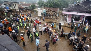 428 Jiwa Terdampak Banjir Bandang Sukabumi, 72 Rumah Rusak